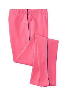 Ralph Lauren Childrenswear Piped Stretch Cotton Leggings Girls 7-16