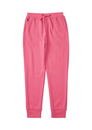 Ralph Lauren Childrenswear Cotton-Blend-Fleece Jogger Girls 7-16
