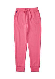 Ralph Lauren Childrenswear Cotton-Blend-Fleece Jogger Girls 7-16