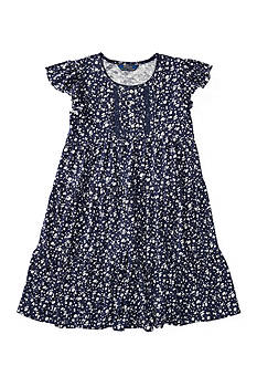 Ralph Lauren Childrenswear Floral Cotton Swing Dress Girls 7-16