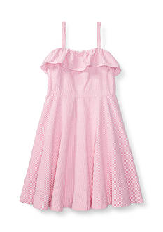 Ralph Lauren Childrenswear Seersucker Dress Girls 7-16