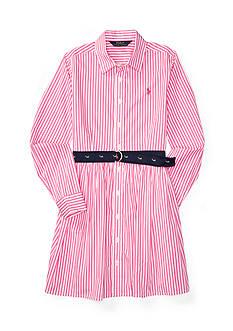 Ralph Lauren Childrenswear Bengal Stripe Shirtdress Girls 7-16