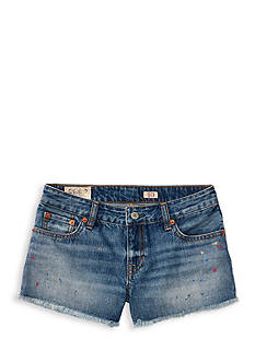Ralph Lauren Childrenswear Splat Paint Denim Shorts Girls 7-16