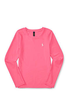 Ralph Lauren Childrenswear Long-Sleeve Rash Guard Girls 7-16