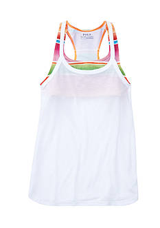 Polo Sport Y-Back Tank Girls 7-16