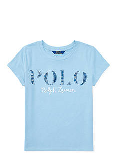 Ralph Lauren Childrenswear Polo Cotton Jersey Graphic Tee Girls 7-16