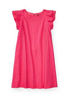 Ralph Lauren Childrenswear Eyelet Dress Girls 7-16