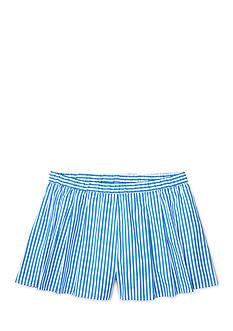 Ralph Lauren Childrenswear Bengal Stripe Short Girls 7-16