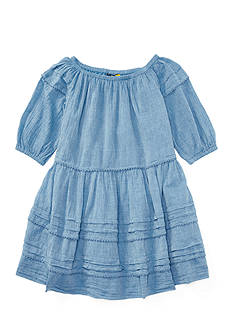 Ralph Lauren Childrenswear Chambray Dress Girls 7-16
