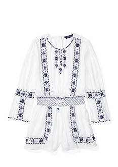 Ralph Lauren Childrenswear Bohemian Romper Girls 7-16