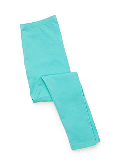 J. Khaki Solid Leggings Girls 7-16