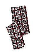 J. Khaki® Red and Black Printed Leggings