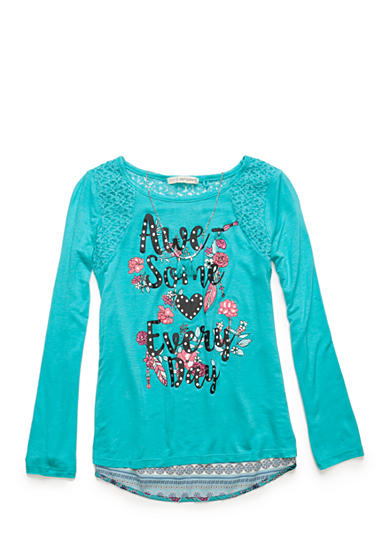 Self Esteem Awesome Everyday Chiffon Top Girls 7-16