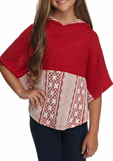 Red Camel® Hooded Poncho Girls 7-16