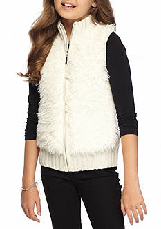 Red Camel Zip Front Sweater Vest 7-16
