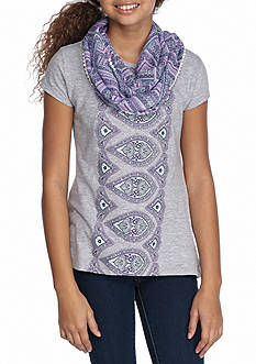Red Camel Medallion Screen Tee Girls 7-16