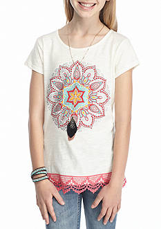 Red Camel® Medallion Tee Girls 7-16