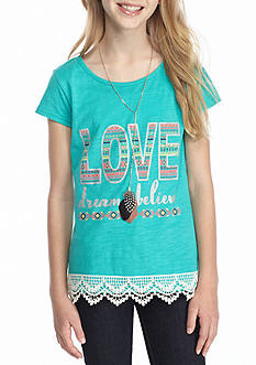 Red Camel® 'Love, Dream, Believe' Graphic Tee Girls 7-16