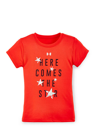 Under Armour® 'Here Comes The Star' Tee Girls 4-6x