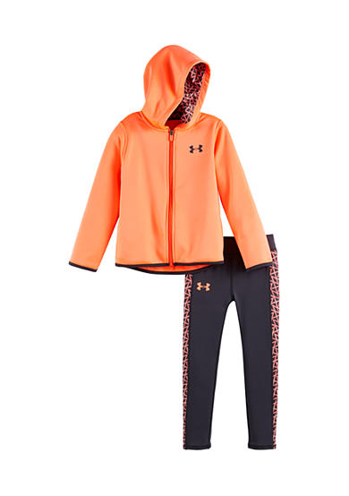 Under Armour® 2-Piece Chain Grid Jacket And Legging Set Girls 4-6x