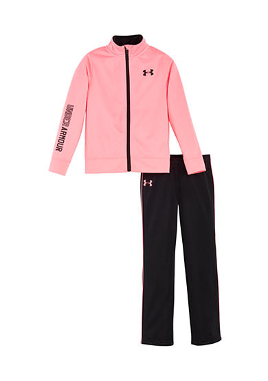 Under Armour® 2-Piece Tricot Jacket And Pant Set Girls 4-6x