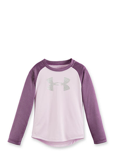 Under Armour® Shimmer Raglan Shirt Girls 4-6x