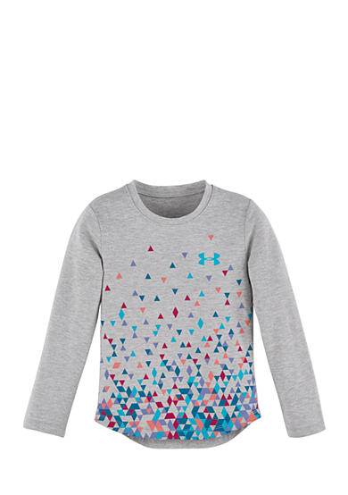 Under Armour® Confetti Long Sleeve Tee Girls 4-6x