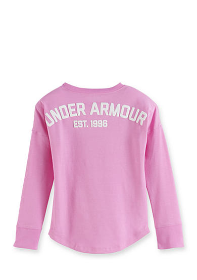 Under Armour® UA College Tee Girls 4-6x