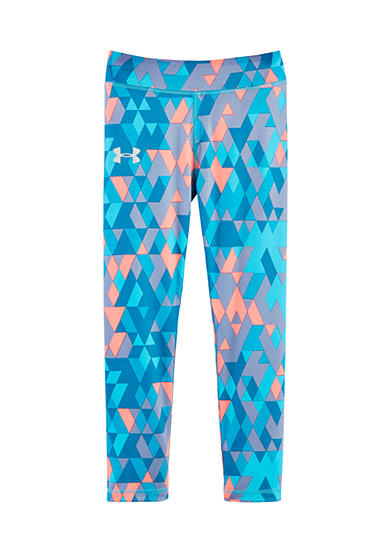 Under Armour® Diamond Print Legging Girls 4-6x