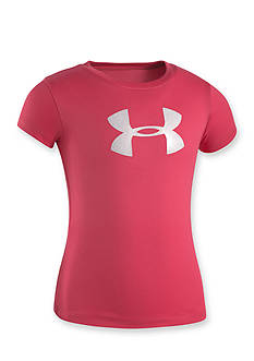 Under Armour® Glitter Logo Tee Girls 4-6x
