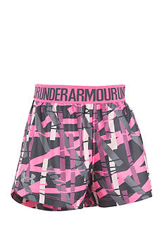 Under Armour Play Up Printed Shorts Girls 4-6x