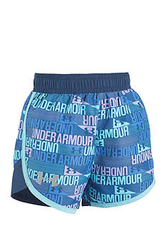 Under Armour Multi Logo Shorts Girls 4-6x