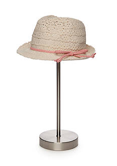 Capelli New York Crochet Trilby Hat
