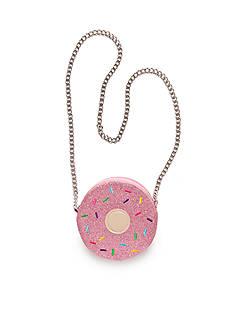 Capelli New York Glitter Doughnut Crossbody Bag