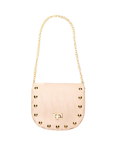 Capelli New York Marbled Faux Leather Shoulder Chain Strap Bag Girls
