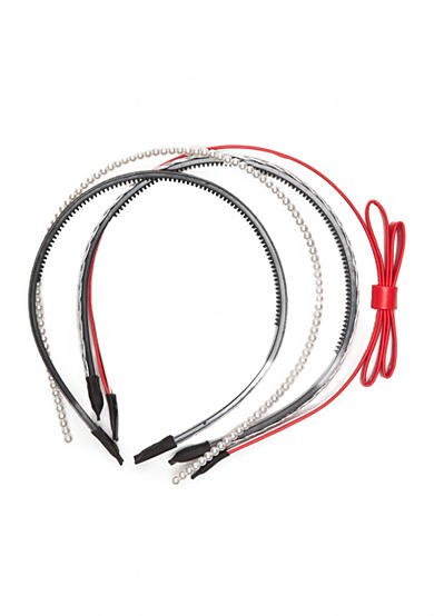 Capelli New York 4-Pack Headband Pearl Glitter