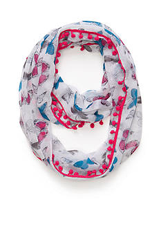 Capelli New York Butterfly Loop Scarf Girls 4-16