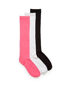 Capelli New York 3-Pack Super Soft Knee High Socks