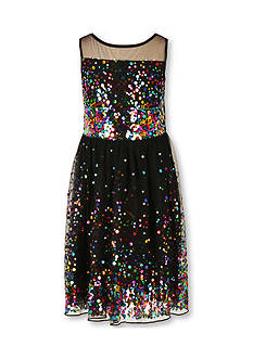 Speechless Sleeveless Sequin Dress Girls 7-16 Plus