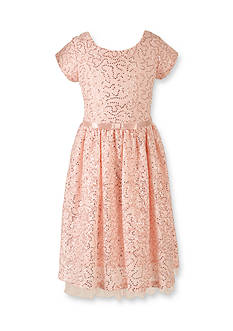 Speechless Sequin Lace Bow Social Dress Girls 7-16