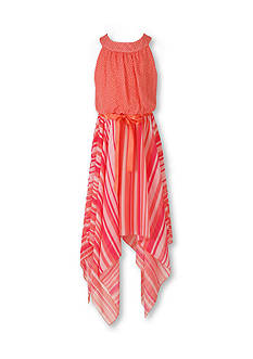 Speechless Halter Stripe Skirt Dress Girls 7-16
