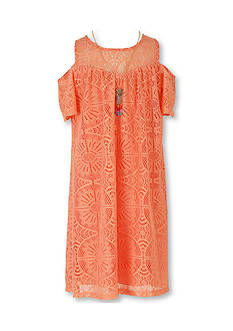 Speechless Lace Cold Shoulder Dress Girls 7-16