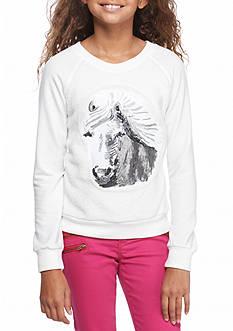 Speechless Horse Woobie Sweatshirt Girls 7-16