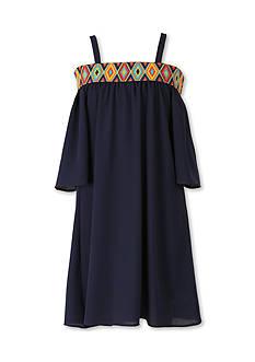 Speechless Cold Shoulder Dress Girls 7-16