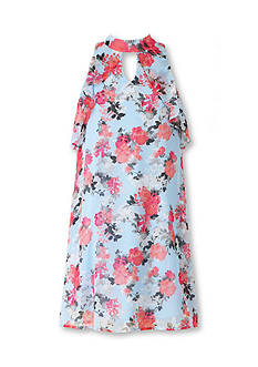 Speechless Floral Halter Dress Girls 7-16