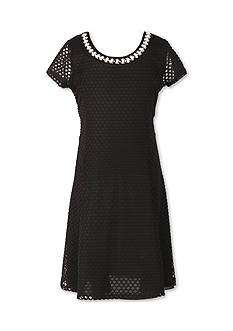 Speechless Black Lace Dress Girls 7-16