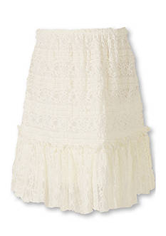 Speechless Crochet Ruffle Skirt Girls 7-16