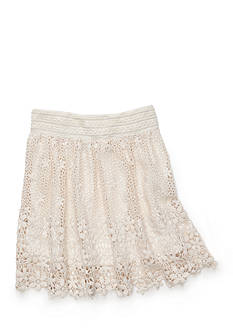 SEQUIN HEARTS girls Crochet Skirt Girls 7-16