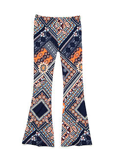 SEQUIN HEARTS girls Printed Flare Knit Pant Girls 7-16