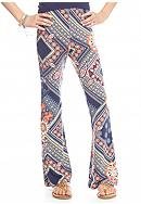 SEQUIN HEARTS girls Multi Printed Flare Pants